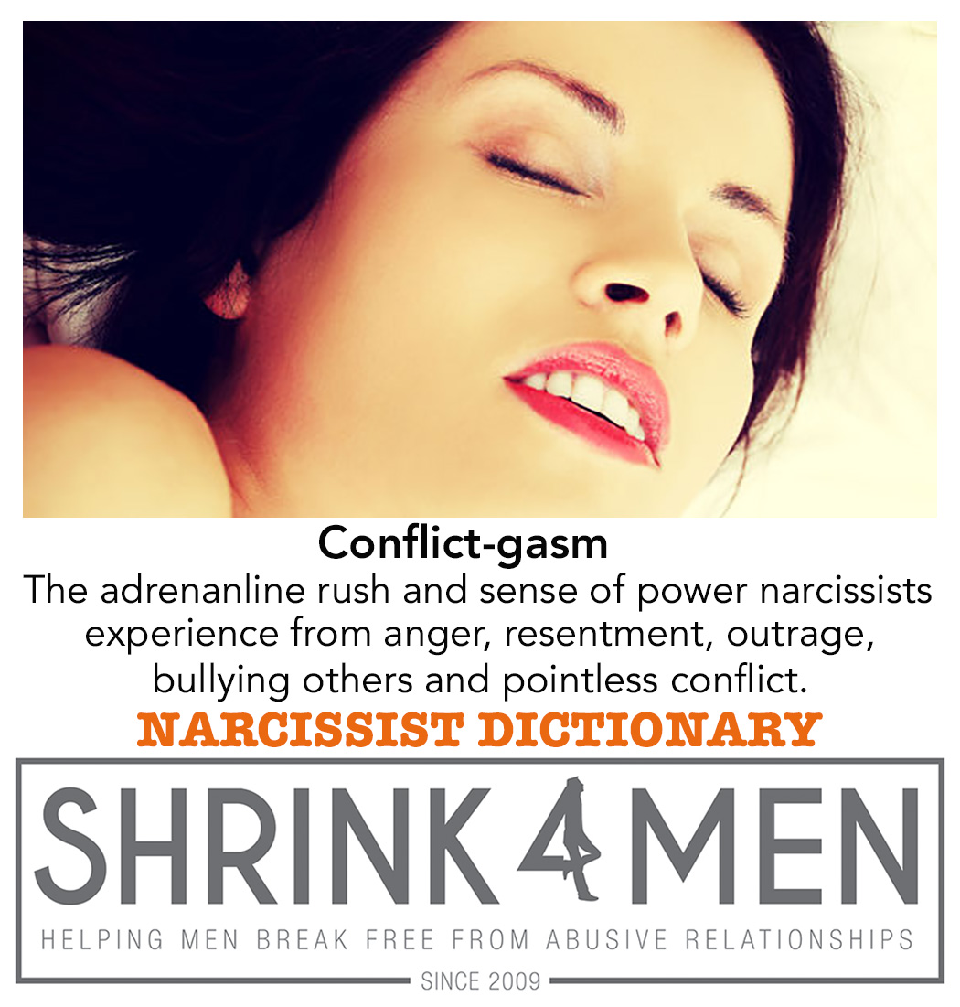 Conflict-gasm: Why You Should Stop Arguing with your